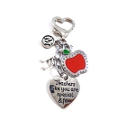 Personalized ART or MUSIC 'Teachers like you are special & few' Purse Charm or Keychain