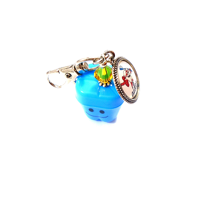 Personalized Tooth Fairy Tooth Saver Pal with Swarovski Birthstone Crystal