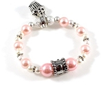 Swarovski Pearls Birthday Bracelet for Baby Girl