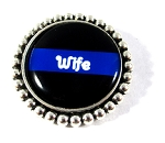 Police - Personalized Thin Blue Line Pin