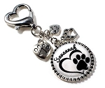 Personalized Key chain or Purse Charm ~ Cat Parents