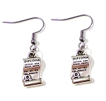 Graduation Diploma Earrings