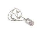 Marines - 'Lord, Protect Him While He Protects Us' Stainless Steel Necklace