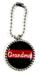 Firefighter - Personalized Red Line Rear View Mirror Charm