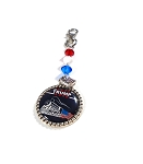 Trump 2020 Key Chain made with Swarovski Crystals